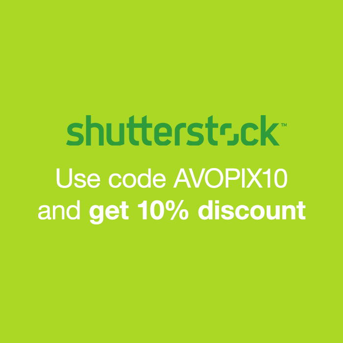 Shutterstock Coupon: Use code AVOPIX10 and get 10% discount